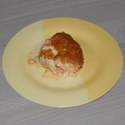 Рыбная запеканка из горбуши или сёмги