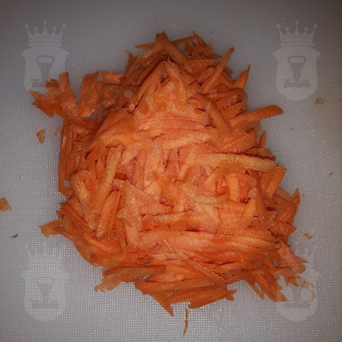 морковь тёртая крупно