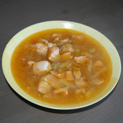 Суп рыбный с сёмгой