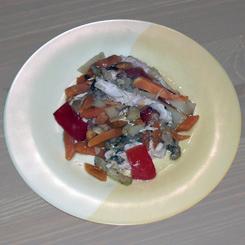 Индейка с овощами в рукаве