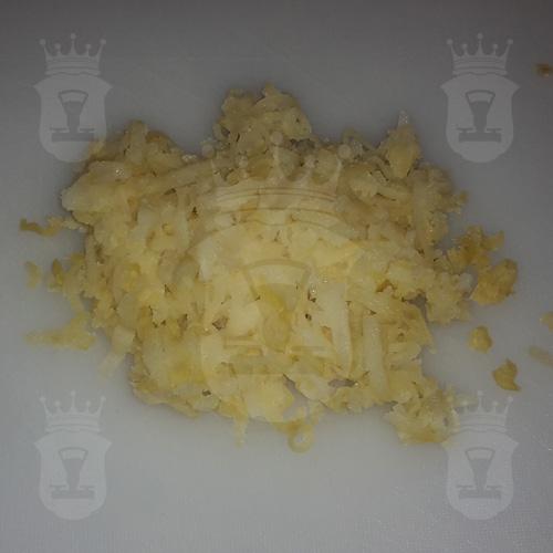 картофель вареный тёртый