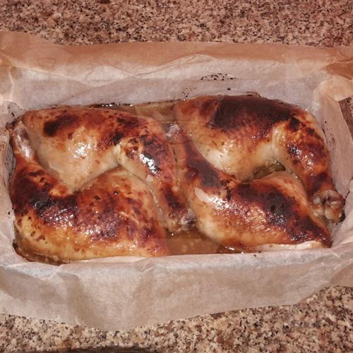 Куриные окорочка в соево-горчичном маринаде