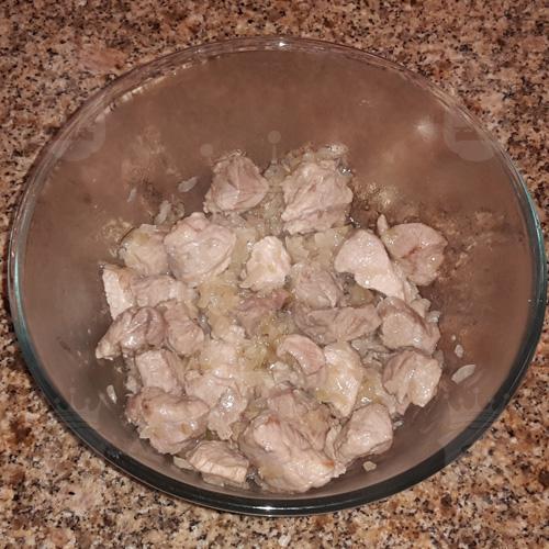 Плов из свинины в микроволновке