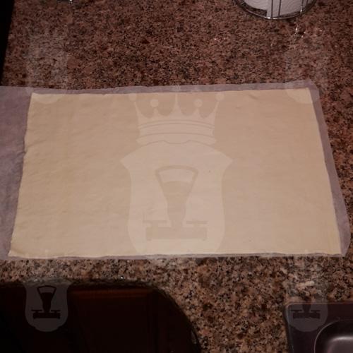 слоёное тесто раскатаное