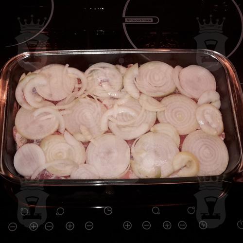Свинина, запечённая с ананасами