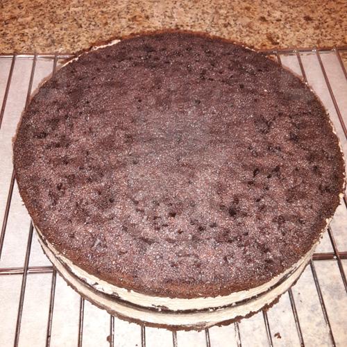 """""""Дьявольский"""" шоколадный торт"""