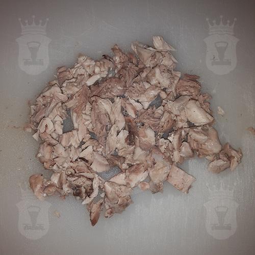 куриное бедро нарезанное