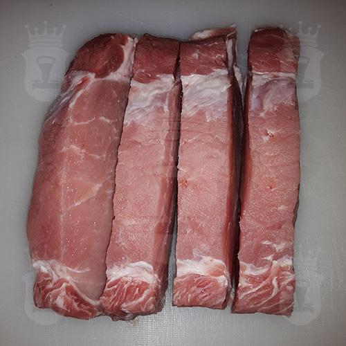 свинина порезанная порционно