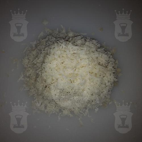 картофель вареный тёртый мелко