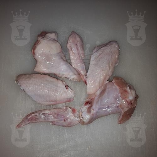 куриные крылья разрезанные