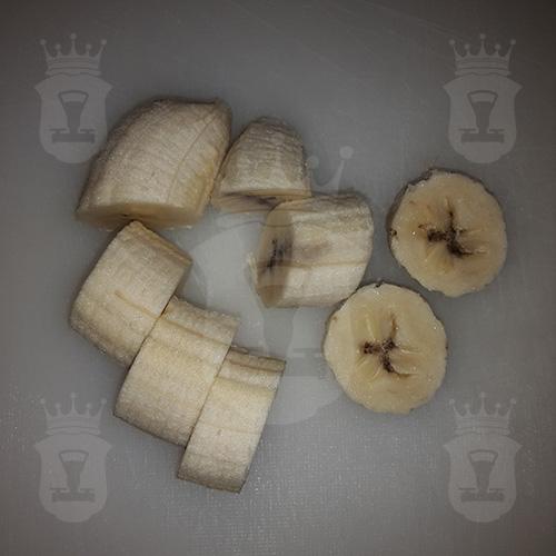 банан порезанный