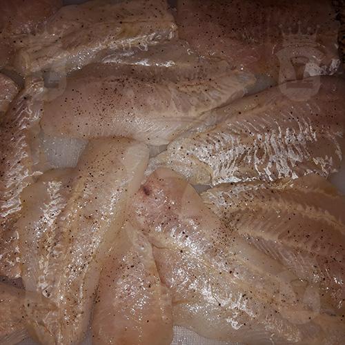 Филе рыбы, запечённое под горчицей