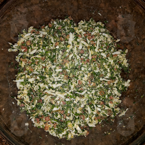 Американский яичный салат