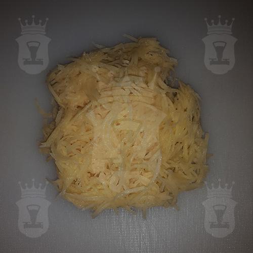 картофель тёртый мелко