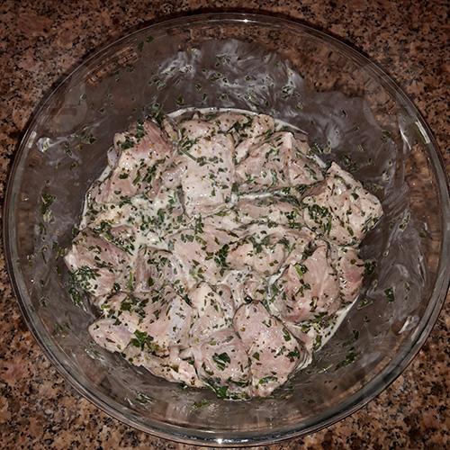Ароматное мясо по-грузински
