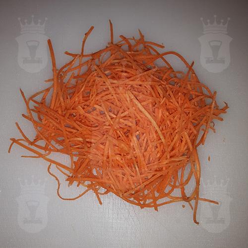морковь тёртая по-корейски
