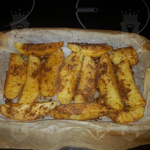 Румяная картошечка в духовке