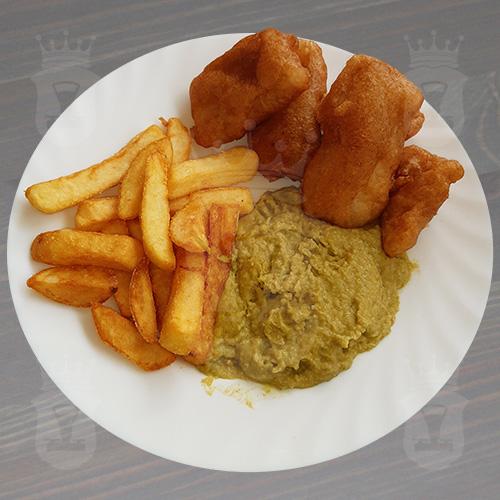 Рыба и картофель фри / Fish and Chips
