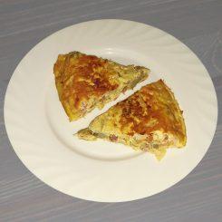 Испанская тортилья из артишоков Tortilla de alcachofas