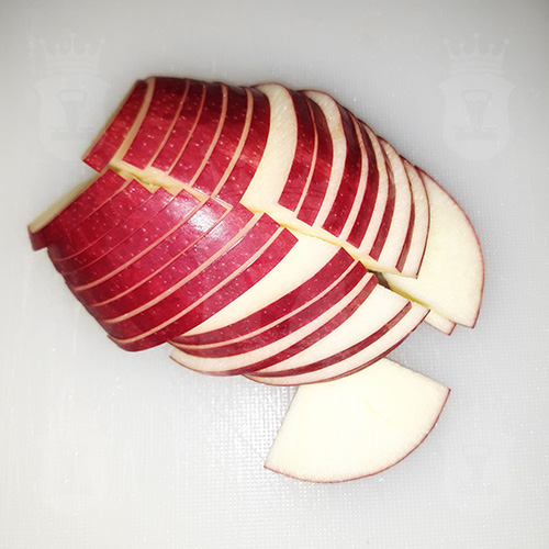 яблоки пореанные