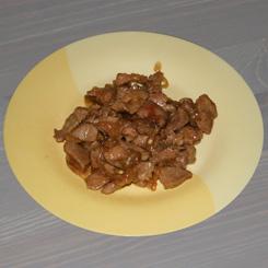 Филе индейки с соевым соусом и имбирём