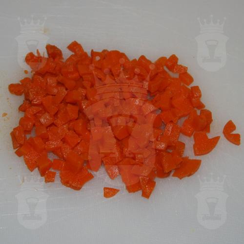 варёная морковь порезанная