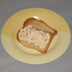 Бутербродная масса из икры минтая