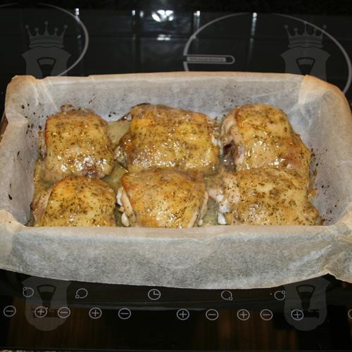 Куриные окорочка в медово-горчичном маринаде