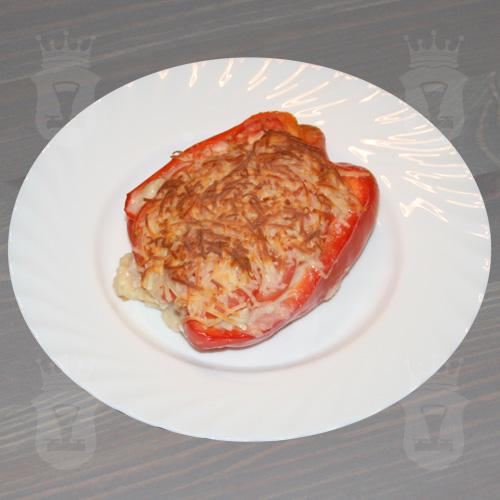 Фаршированный перец, запечённый в духовке