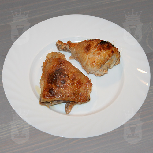 Куриные ножки, запеченные со сливками