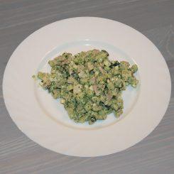 Салат с мясом и свежим огурцом