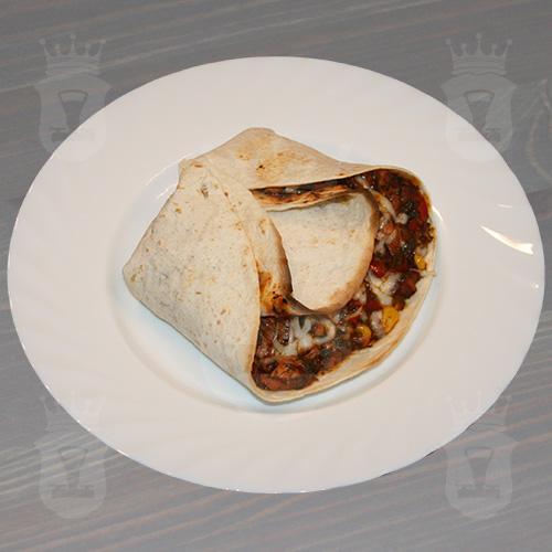 Мексиканское буррито из индейки с сыром