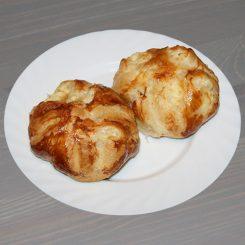 Хачапури из слоеного теста