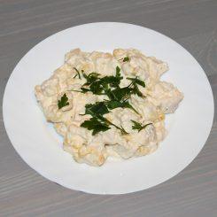 Салат из курицы c ананасом