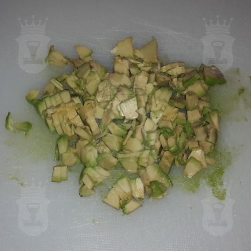 авокадо порезанный