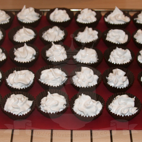 Пирожное безе (меренга)