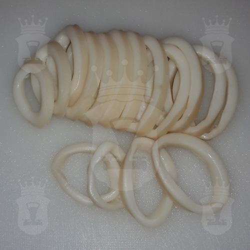 кальмар варёный порезанный кольцами