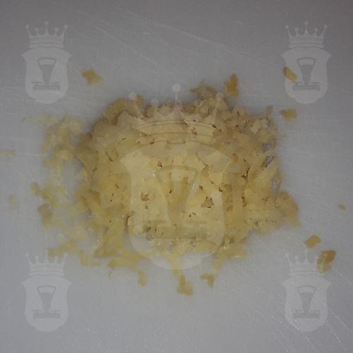 картофель в мундире тёртый