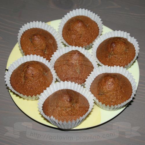 Медово-ореховые кексики