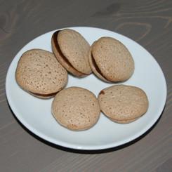 Макаруны шоколадные (macarons)