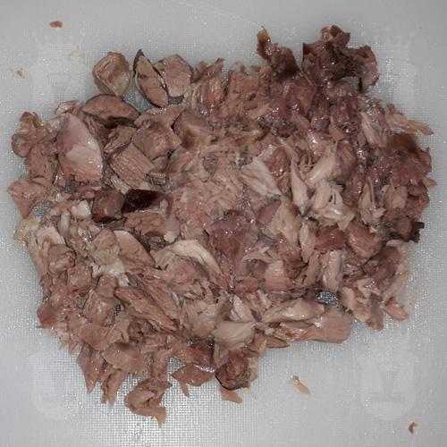 вареное мясо порезаное