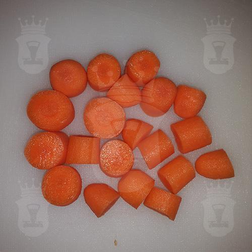 морковь нарезанная крупно