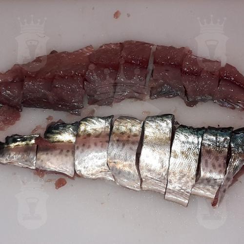 скумбрия филе порезанное крупное