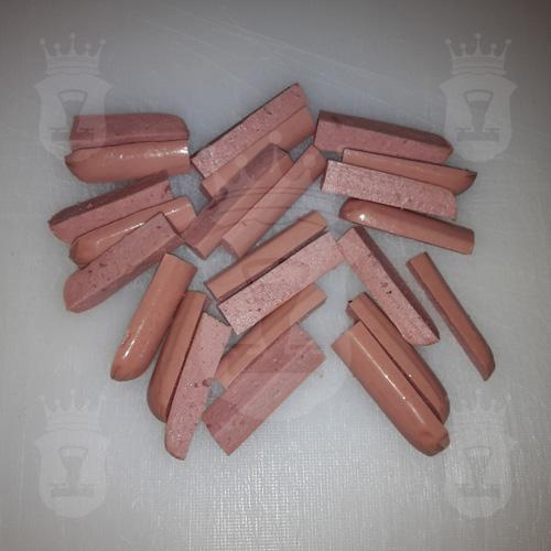 сосиски порезанные соломкой