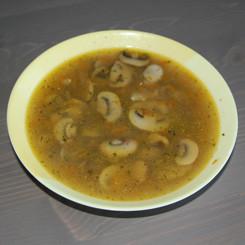 Суп грибной из шампиньонов
