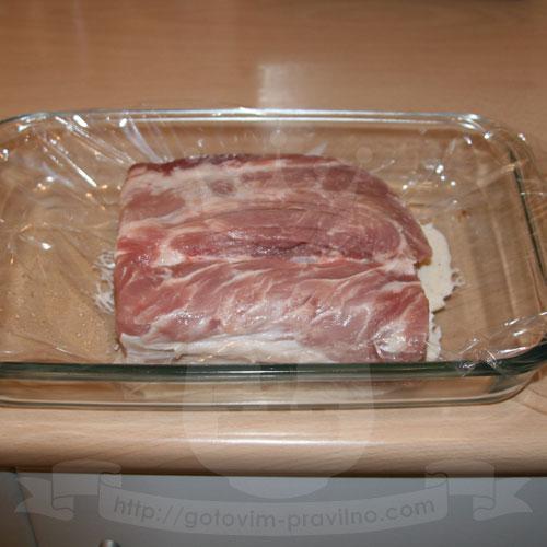 Свинина для завтрака